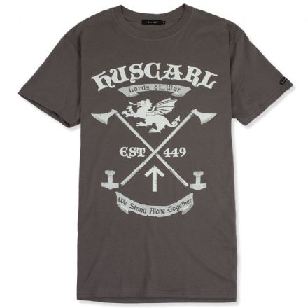 Huscarl Lords of War T-Shirt - Charcoal